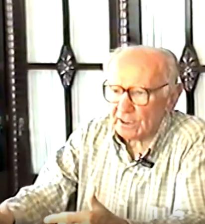 foto de Raimundo da Cunha em entrevista