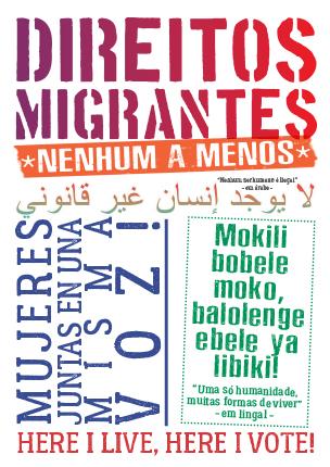 Exposição Direitos Migrantes: nenhum a menos
