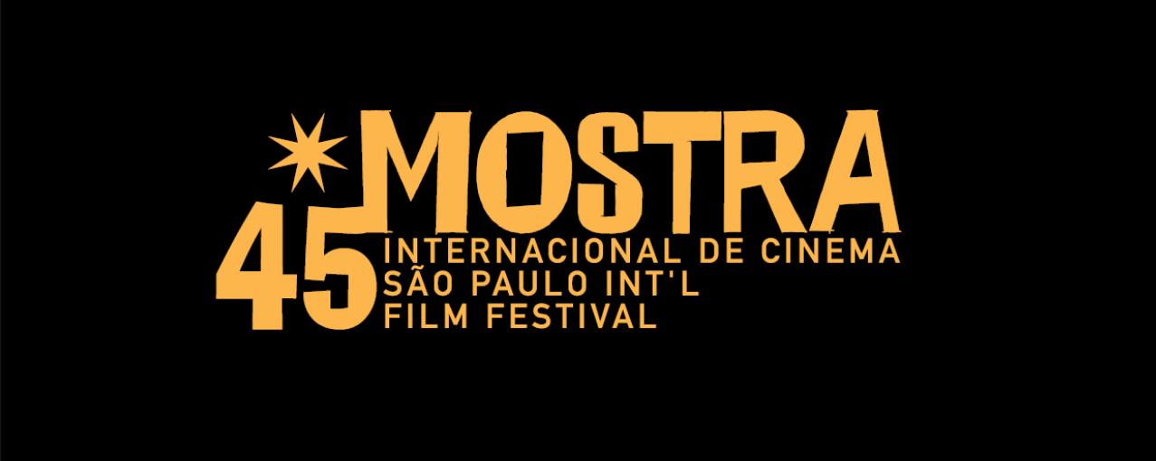 Logo 45ª Mostra Internacional de Cinema em São Paulo